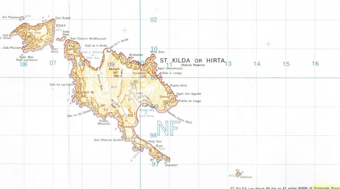 Archipel de St Kilda